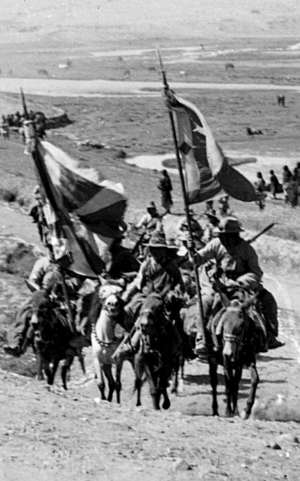 チベットのゲリラ兵士