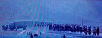 ラプラン中学のデモ