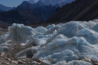 ナンパラ氷河舌端部