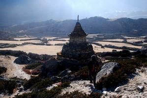 チュレの古い仏塔