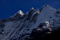 キムシュン峰 6745m