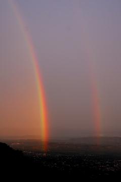 ダラムサラの虹