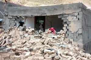 ケグド地震 当代村 遊牧民定住地区