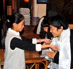 和田君とまゆこちゃんの結婚式3