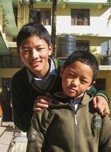 ツェリン・ノルブと従兄のジャヤン・タシ