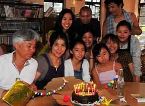 25.5.2010 ルンタ・レストラン 直子さんの誕生日