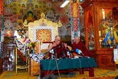 10.3.09 Dharamsala 法王の記者会見
