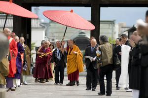 2010年6月 法王 長野訪問 写真・野田雅也