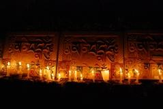 10.3.09 Dharamsala キャンドル・ライト・ビジルの後