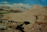 チベット プランの町