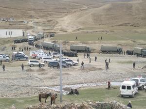 鉱山開発に反対したナムリン村