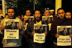 22.10.09 4人の死刑執行に抗議するデモと集会4