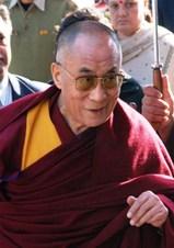 2008年10月25日ダラムサラTCV御訪問のダライラマ法王