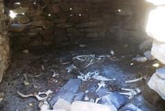 ルナックの岩屋の中
