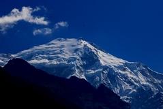 ランタン・リルン(ゲネン・レール)峰7225m南西面