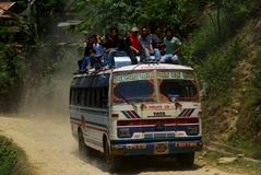帰りのバスと同型