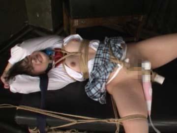 【エロ動画】木村つな、拘束電マ固定放置