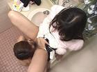OL・椎名りくの髪の分け目3