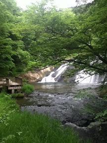 釜淵の滝1