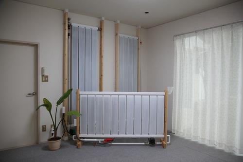 輻射式パネル暖房1