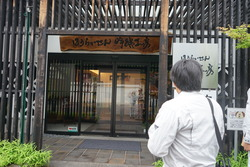 関谷酒造工房前