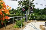 独立型ソーラーシステム設置4