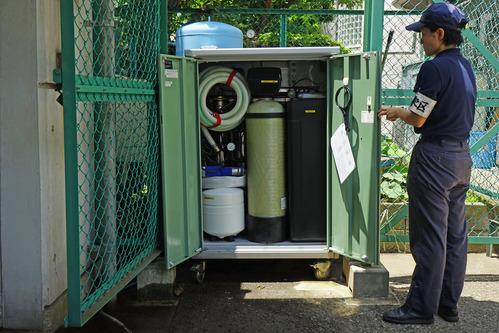 移動式膜濾過浄水装置
