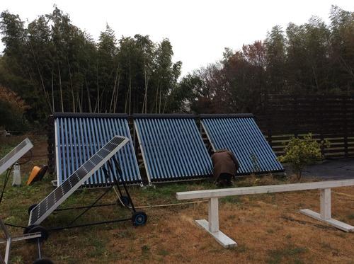 ソーラーコレクター移設1