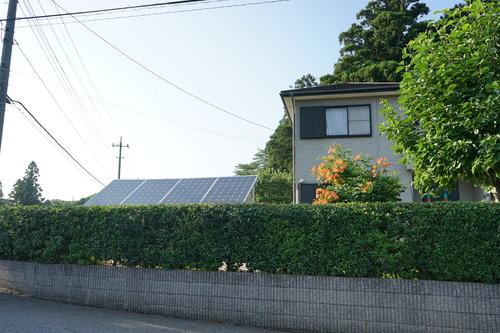 独立型ソーラーシステム設置2