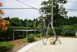 独立型ソーラーシステム設置1
