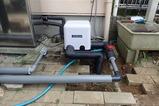 新しい井戸ポンプ