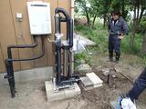 常総市向け浄水装置設置4