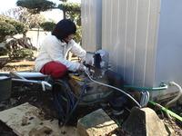 井戸ポンプ交換の様子4