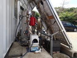 赤塚展示場のソーラーシステム更新3