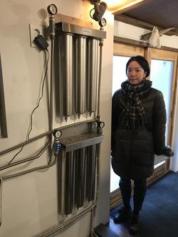 浄水装置のサイズ感