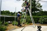 独立型ソーラーシステム設置5