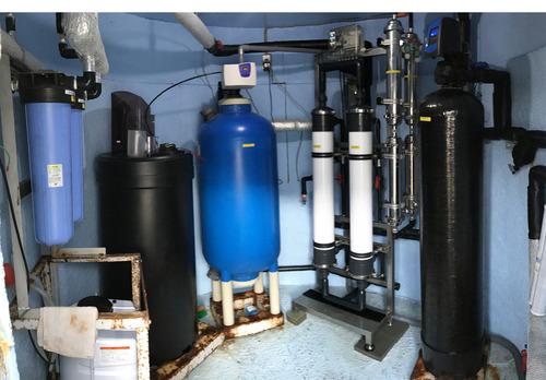 浄水装置のアップグレード全景
