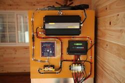 赤塚展示場の独立型ソーラーシステム5