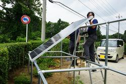 独立型ソーラーシステム設置6