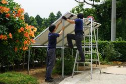 独立型ソーラーシステム設置10
