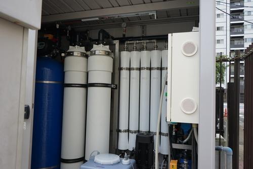 災害対策用浄水装置