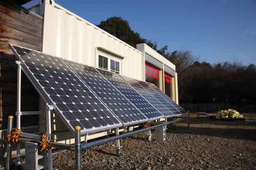 赤塚展示場の独立型ソーラーシステム4