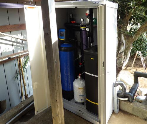 最新モデルの浄水装置