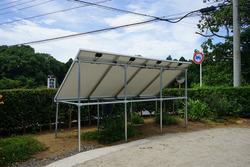 独立型ソーラーシステム設置12