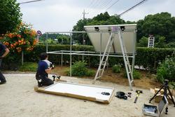 独立型ソーラーシステム設置11