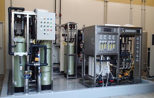半導体メーカー納入のEDI装置