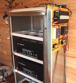 赤塚展示場の独立型ソーラーシステム3