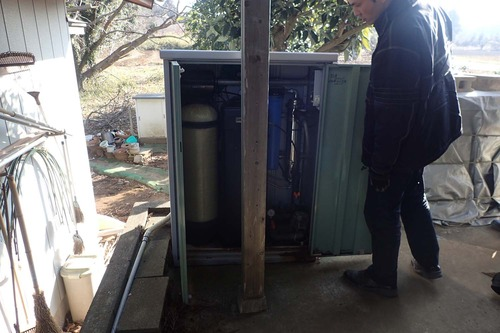 以前の浄水装置