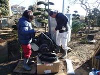井戸ポンプ交換の様子3