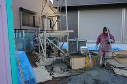 井戸掘削現場3